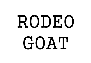 rodeo goat